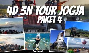 Paket wisata jogja 4 hari 3 malam paket 4