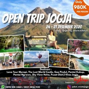 open trip jogja 2020 dari jakarta